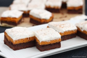 chocolate pumpkin bars