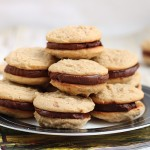 Fudge filled irresistible peanut butter cookies