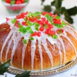 Julekage – Norwegian Christmas fruit bread