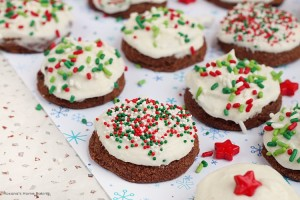Triple chocolate meltaway cookies recipe
