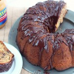 Peanut butter chocolate bundt cake