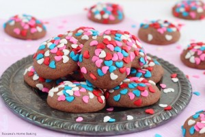 chocolate and cream cheese soft cookies