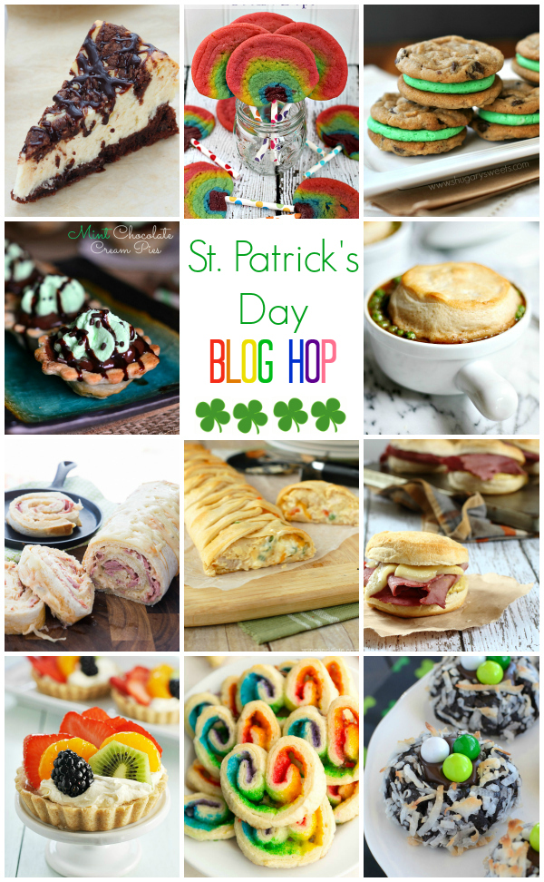 St Patricks Day Blog Hop with Pillsbury