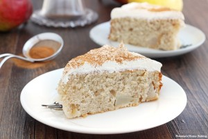 cinnamon pear cake recipe