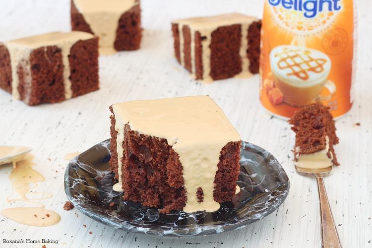 Chocolate caramel cake recipe
