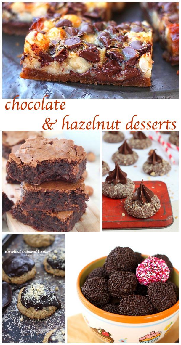 chocolate hazelnut desserts