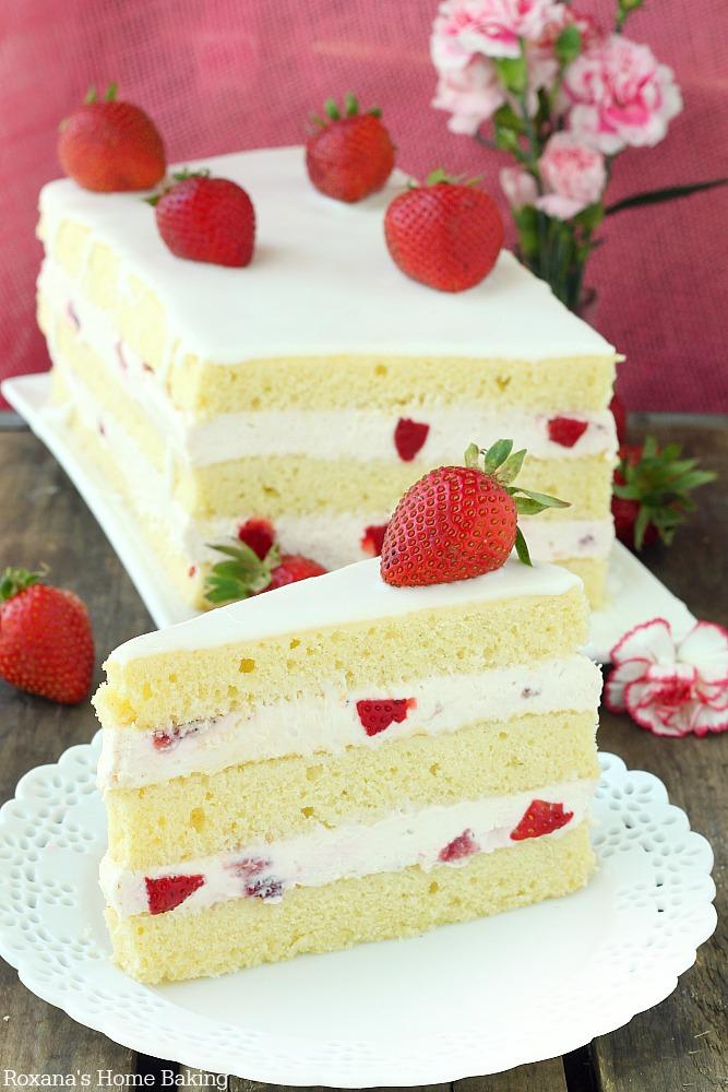Images Of Strawberry Shortcake Cake : Strawberry shortcake cake recipe