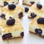 No bake blackberry bars
