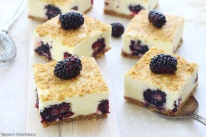 no bake blackberry bars recipe