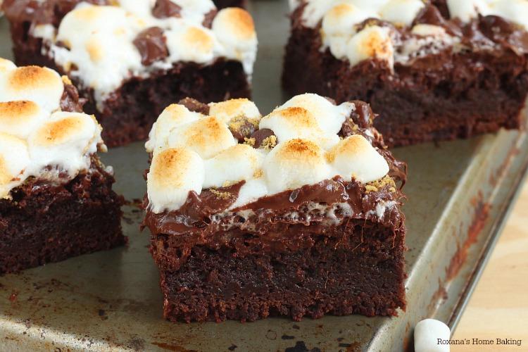 Smore brownies recipe