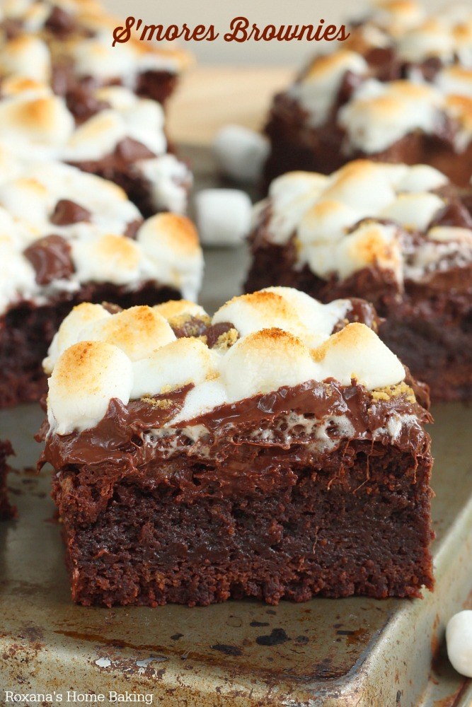 Outstanding taste with the perfect amount of gooey-ness, these rich s'more brownies put a fun spin on the classic smores. Ooey, gooy and oh-so-good.