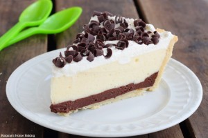 chocolate and vanilla pudding pie recipe