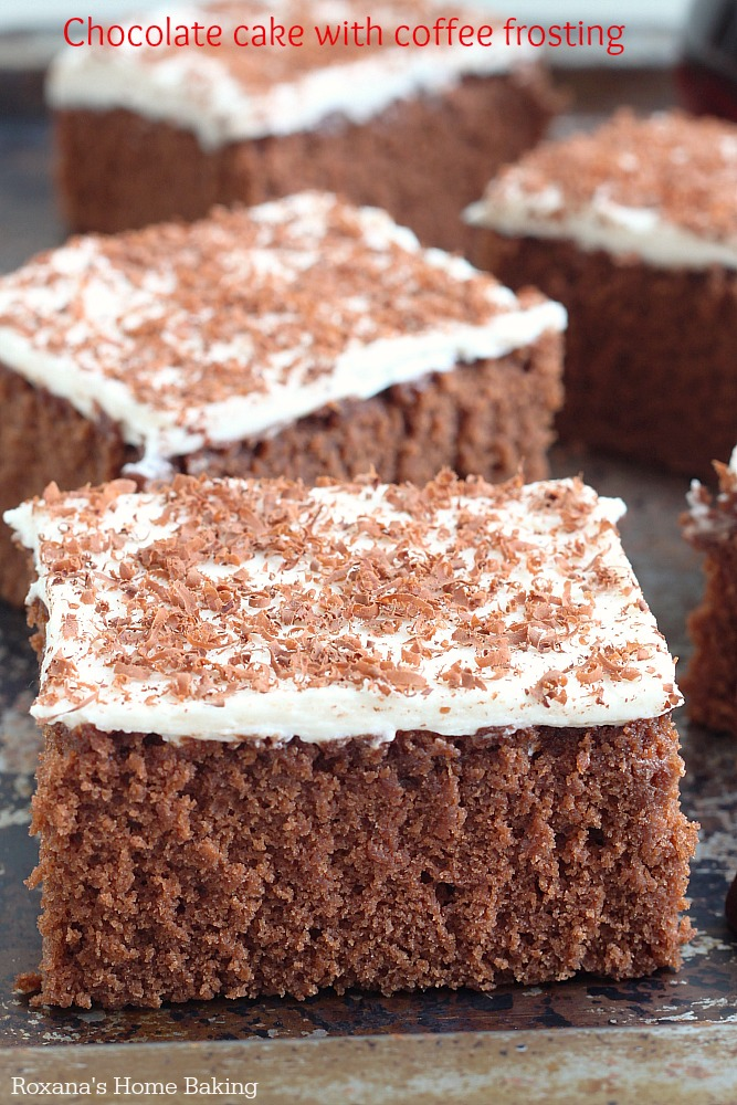 Chocolate Cake With Mayo And Coffee Cocoa Powder