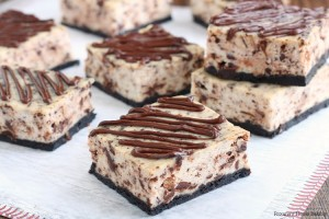 chocolate ricotta cheesecake bars recipe