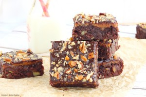 irresistible caramel fudge brownies recipe