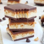 homemade snickers bars recipe