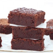 Guinness stout chocolate brownies
